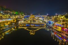 Fenghuang Ancient Town, Fenghuang County, Hunan, China Royalty Free Stock Photo
