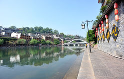 Fenghuang ancient town Royalty Free Stock Images