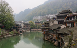 Fenghuang Ancient Town in Hunan, China Royalty Free Stock Photography