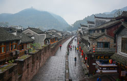Fenghuang Ancient Town in Hunan, China Stock Photography