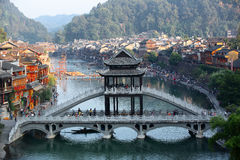 Fenghuang ancient town Stock Photography