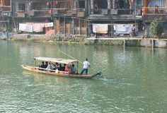 Fenghuang ancient town Stock Photo