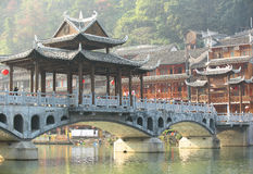 Fenghuang ancient town Royalty Free Stock Photo