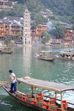 Fenghuang ancient town Stock Images