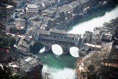 Fenghuang antyczny miasteczko Hongqiao Fotografia Royalty Free