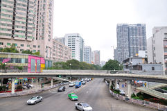 Fenghuang Beilu road to Cuixiang Road intersection scenery Stock Photos