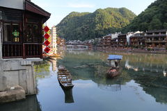 Fenghuang, Chiny Zdjęcia Stock