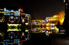 Fenghuang city or phoenix town Stock Photography
