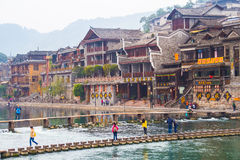 Fenghuang county Royalty Free Stock Photo