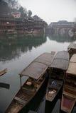 Fenghuang Hunan landskap, sydliga Kina Arkivbilder