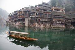 Fenghuang Hunan landskap, sydliga Kina Royaltyfria Foton