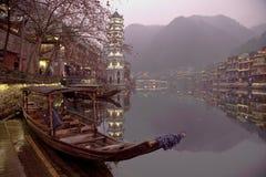 Fenghuang Hunan landskap, sydliga Kina Royaltyfri Fotografi