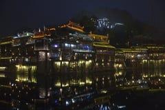 Fenghuang Hunan landskap, sydliga Kina Royaltyfri Bild