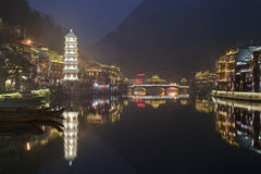 Fenghuang, Hunan Province, Southern China Stock Photo