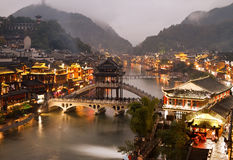 Fenghuang at night Royalty Free Stock Photo