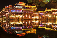 Fenghuang at night Royalty Free Stock Image