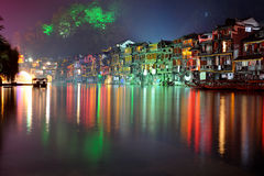 Fenghuang by night Royalty Free Stock Images