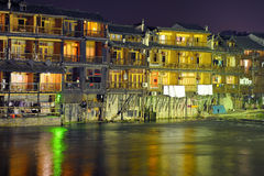 Fenghuang by night Stock Photos