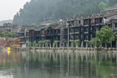 Fenghuang old town morning view Stock Photography