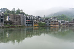 Fenghuang old town morning view Stock Images