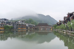 Fenghuang old town morning view Royalty Free Stock Images