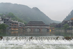 Fenghuang old town morning view Stock Image