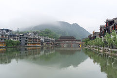 Fenghuang old town morning view Stock Photo