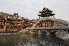 Fenghuang old town Stock Image