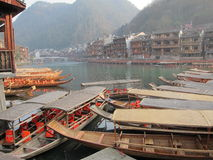 Fenghuang oude stad Stock Afbeelding