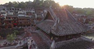 Fenghuang oude stad stock videobeelden