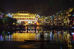 FengHuang (Phoenix) ancient town Stock Image