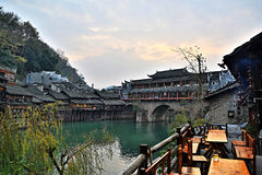Fenghuang-Stadt Stockfotos