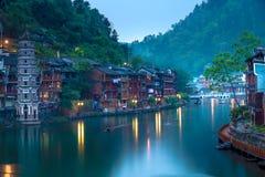 Fenghuang-Stadt lizenzfreie stockfotografie