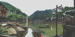 Fenghuang Stadt Stockfotografie