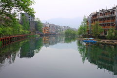 Fenghuang town Royalty Free Stock Image