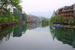 Fenghuang town Royaltyfri Bild