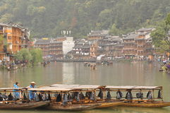 FengHuang town Royalty Free Stock Images