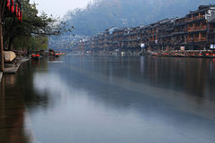 Fenghuang town Stock Photography