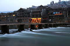 Fenghuang town Stock Image