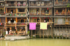 Fenghuang Village China Hotels Stock Image