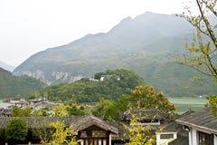 fengjie baidi城市风景  免版税库存照片
