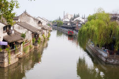 Fengjing stad Shanghai Royaltyfria Foton