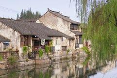 Fengjing stad Shanghai Arkivbild