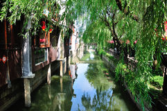 Free Fengjing Town Shanghai China Water Canal Stock Images - 45460564