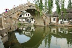Fengjing Town Stone Bridge Royalty Free Stock Photography