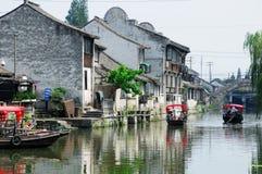 Fengjingsstad Shanghai China Stock Afbeelding