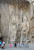 Fengxiansi Cave Longmen Grottoes Buddha Royalty Free Stock Photography
