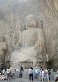 Fengxiansi Cave Longmen Grottoes Buddha Stock Images