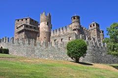 fenis Италия замока aosta Стоковое Фото