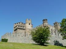 Fenis Aosta dolina Zdjęcia Royalty Free